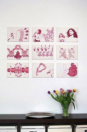 Authentische und kraftvolle Bilder| Kunst online kaufen|9 garego Motive|Kunstdruck|Leinwand|ohne Rahmen|30 x 20 cm|Gabriela Goronzy