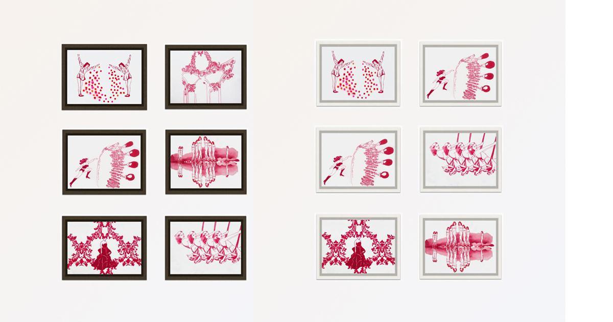 garego Artprints|Kunst online kaufen|6 Motive|Alu-Dibond|Schattenfugenrahmen Erle braun|Schattenfugenrahmen Ahorn weiss|30x20 cm|Gabriela Goronzy|